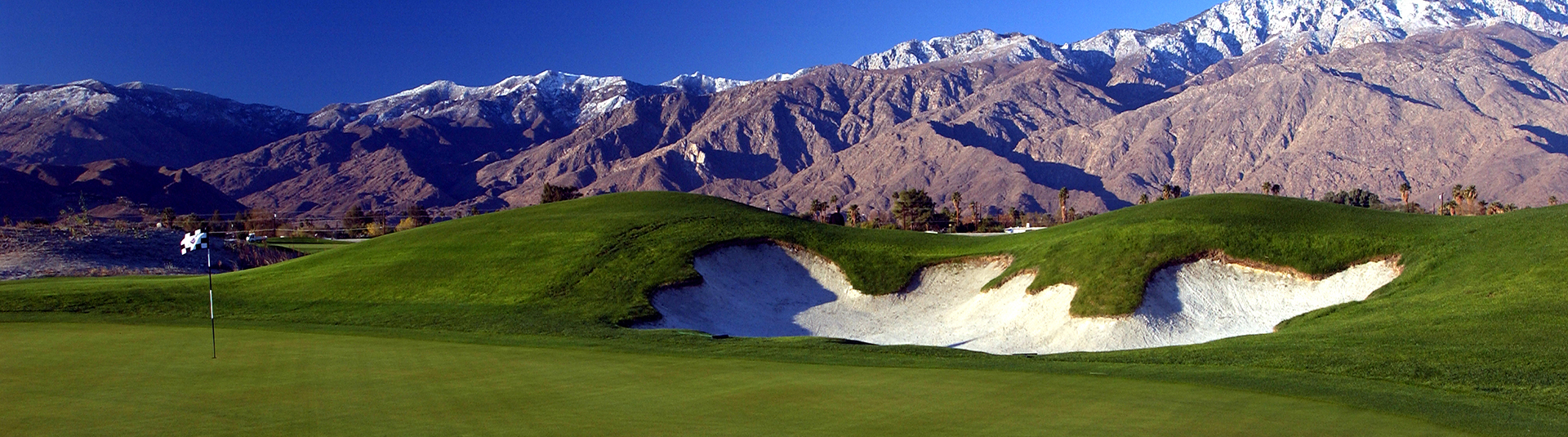 Course and mountains